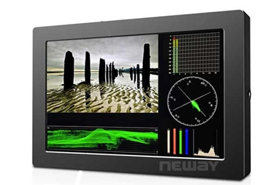 "NEWAY CK710S Monitor LED 7"". Chasis de metal y resolución 1920x12"