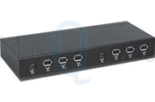 MQV Patch panel Firewire de 8 puntos. Incluye 4 latiguillos