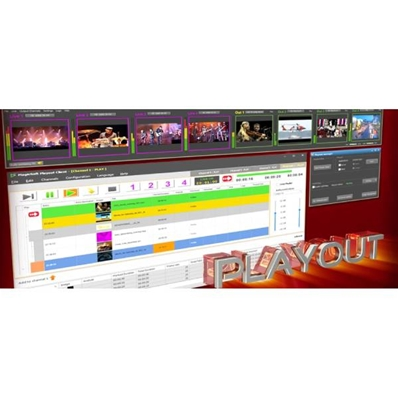 MAGIC SOFT Soft de PlayOut HD-SD, compatible Blackmagic.