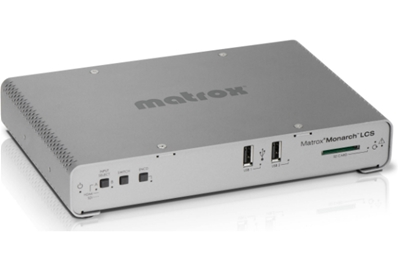 MATROX Monarch LCS. Sistema autónomo streaming con 2 entradas vídeo.