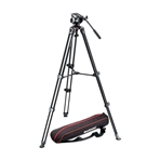 MANFROTTO MVK500AM Kit: rótula MVH500A, trípode MVT502AM y bolsa M...