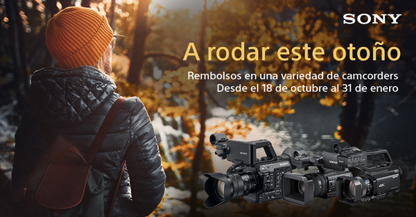 PROMO SONY CASHBACK CAMCORDERS OCT19