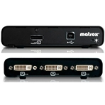 MATROX Triple Head. Interface multimonitor (1In DP-3Out DVI-D).
