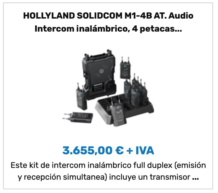 HOLLYLAND SOLIDCOM M1-4B