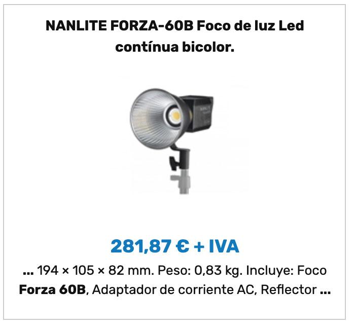 Nanlite Forza 60B