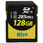 WISE SD2-128U3 Wise. Tarjeta SD 128GB -Max Read/Write -285MB/s-...