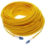 MQV Cable F.Optica, 100 metros, monomodo, flexible, LC-LC
