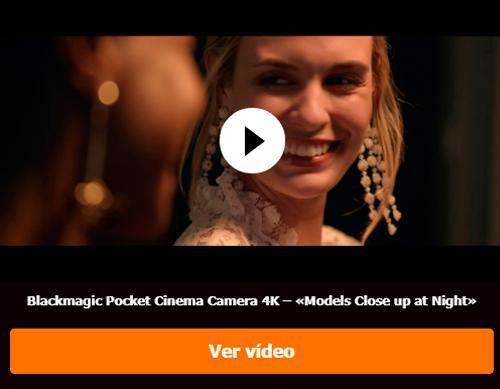 Blackmagic Pocket Cinema Camera 4K – «Models Close up at Night»