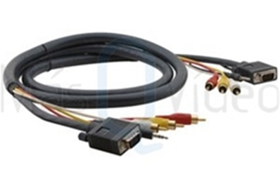 KRAMER C-MH1/MH1-150 Cable Terminado 15 pines HD + Audio + 3RCA