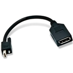 MATROX Cable adaptador Mini DisplayPort a DisplayPort....