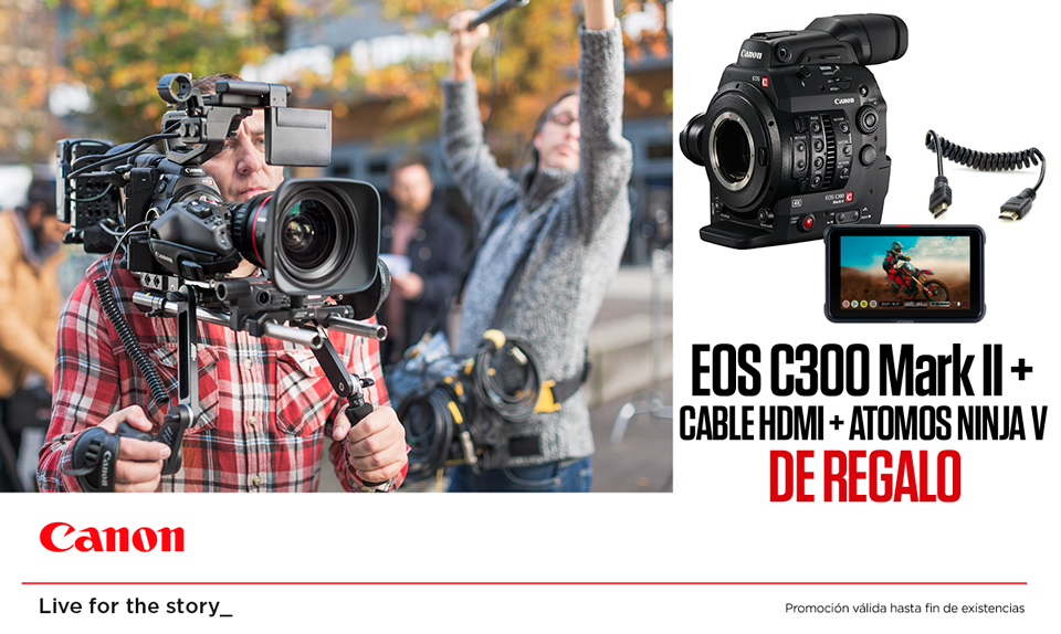 PROMO KIT CANON EOS C300 MARK II