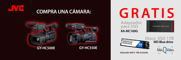 PROMO JVC GY-HC550E Y GY-HC500E CAMCORDERS 4K ENG