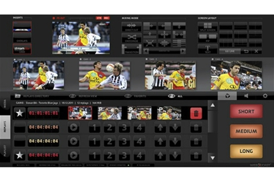 JVC Licencia soft (Win) para replays, streaming y mixer.