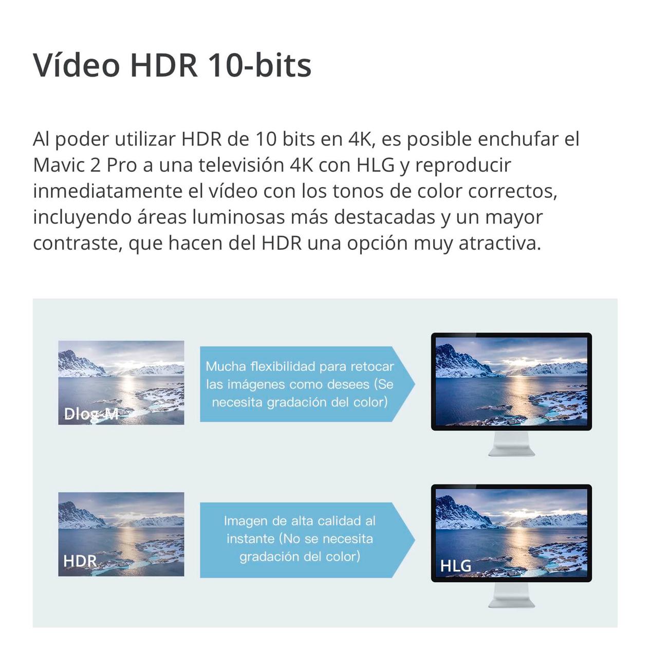 DJI MAVIC 2 PRO - VÍDEO HDR 10 BITS