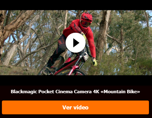 Blackmagic Pocket Cinema Camera 4K «Mountain Bike»