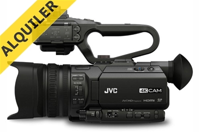 Alquiler JVC GY-HM170