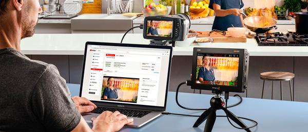BLACKMAGIC VIDEO ASSIST 5 3G - TRANSMISIONES EN DIRECTO POR INTERNET