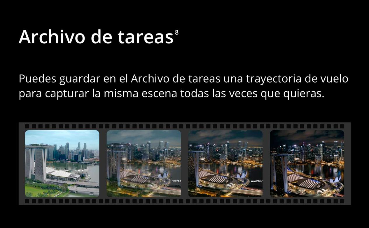 DJI MAVIC 2 PRO - Archivo de tareas