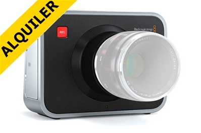 Alquiler BLACKMAGIC CINEMA CAMERA 2,5K