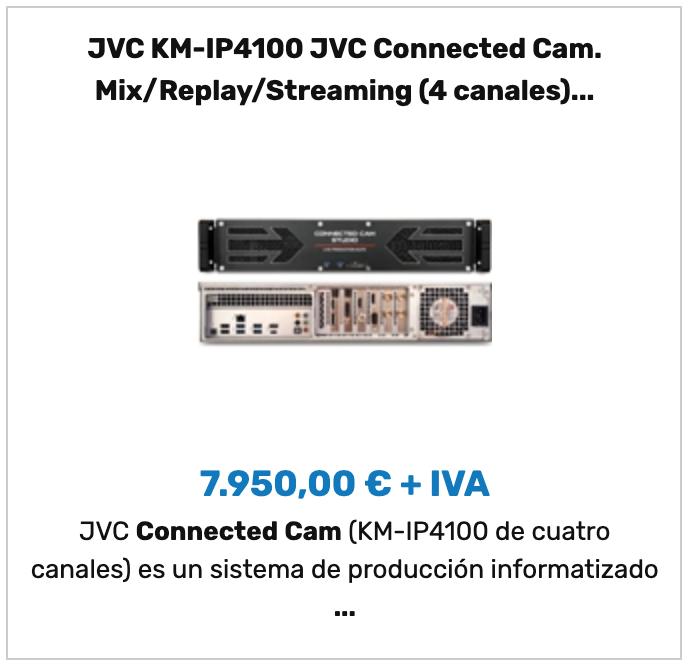 JVC KM-IP4100
