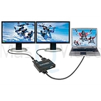 MATROX Dual Head. Interface multimonitor para PC (1In VGA-2Out DVI).