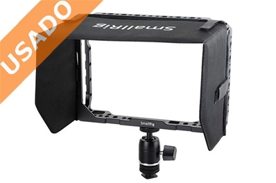 "SMALLRIG SM1988 (Usado) Cage para Video Assist 7"". Incluye parasol..."