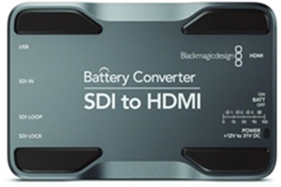 BLACKMAGIC Battery Converter (HD)-SDI to HDMI.