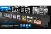 "NEWAY RM02S 8 monitores 2"" en 1U, con conex HD-SDI (Full HD)..."