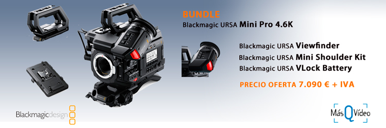 BLACKMAGIC URSA MINI PRO 4.6K BUNDLE OFERTA