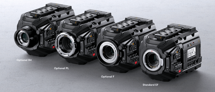 Blackmagic Design URSA Mini Pro 4.6K - objetivos