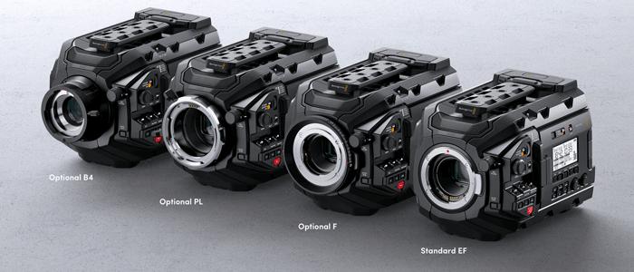 Blackmagic Design URSA Mini Pro 4.6K - objetivos
