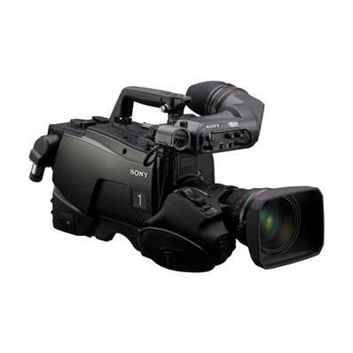 "SONY HDC-2400//U ""2/3'' 3G Fiber Multiformat Studio Camera with Carbo"