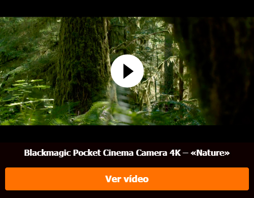 Blackmagic Pocket Cinema Camera 4K – «Nature»