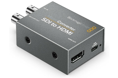 BLACKMAGIC Micro Converter HD-SDI a HDMI.