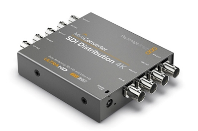 BLACKMAGIC Mini Converter, distribuidor 4K (HD)-SDI, 1In-8Outs.