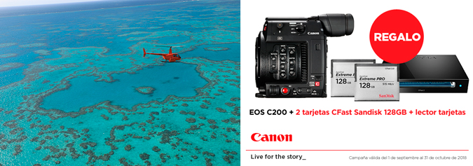 CANON EOS C200 PROMOCIÓN SEP2018