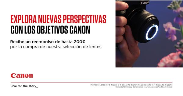 CANON OBJETIVOS PROMOCIÓN CASHBACK JUN21
