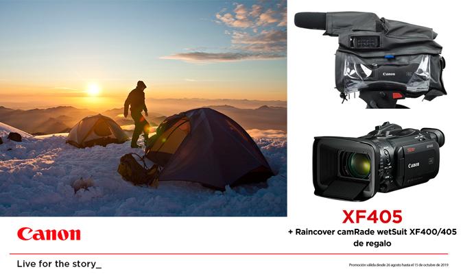 CANON XF405 PROMOCIÓN
