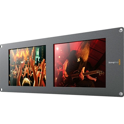 "BLACKMAGIC HDL-SMTVDUO SmartView Duo. Doble monitor 8"" HD-SDI"