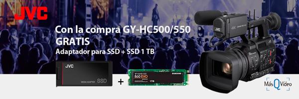 PROMOCIÓN JVC CÁMARAS GY-HC500-550