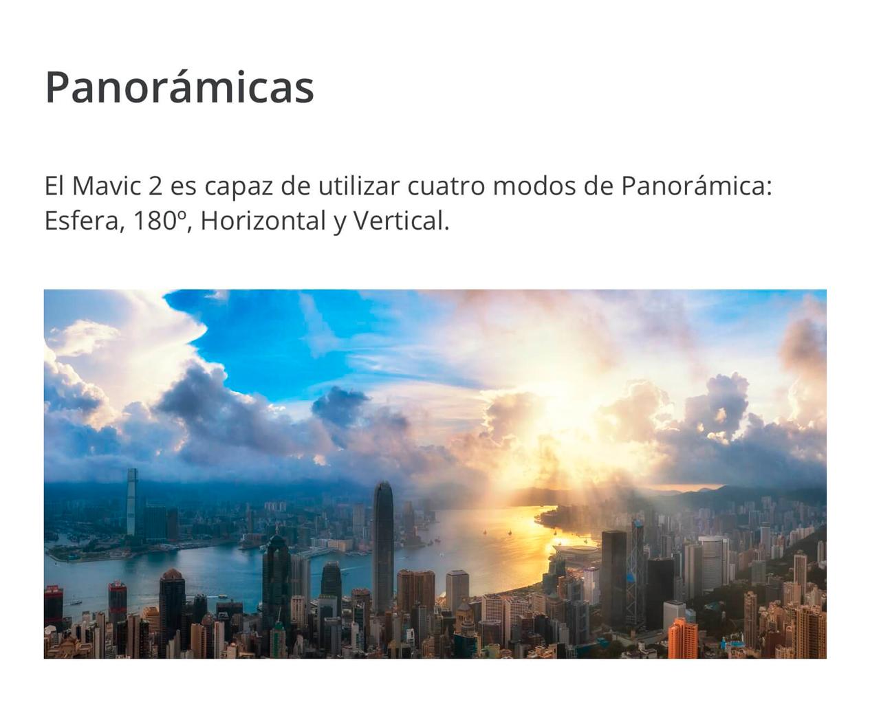 DJI MAVIC 2 PRO - Panorámicas
